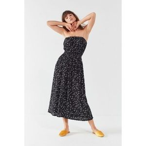 Urban Outfitters Black & White Polka Dot Jumpsuit